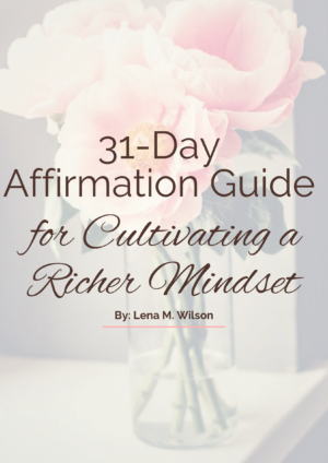 31-Day Affirmation Cover